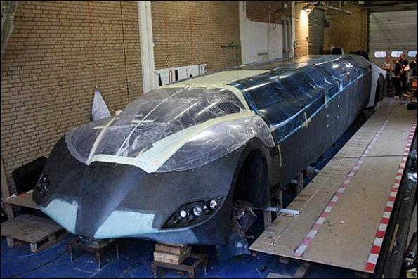 عکس: عجیب ترین ماشین جهان!